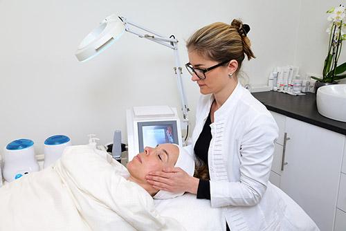Skincare Bindweefselmassage
